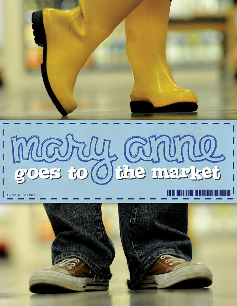 Mary Anne Goes To The Market